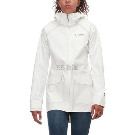 5折!Columbia 哥伦比亚 Outdry Ex Eco Fish Tale 女款防水冲锋衣 .49(约686元) - 海淘优惠海淘折扣|55海淘网