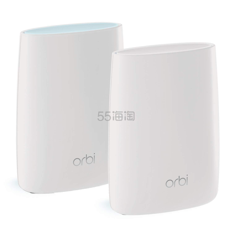 【中亚Prime会员】Netgear 美国网件 无线接入系统网件 Orbi rbk50 三频2节点套装 到手价2171元 - 海淘优惠海淘折扣 55海淘网