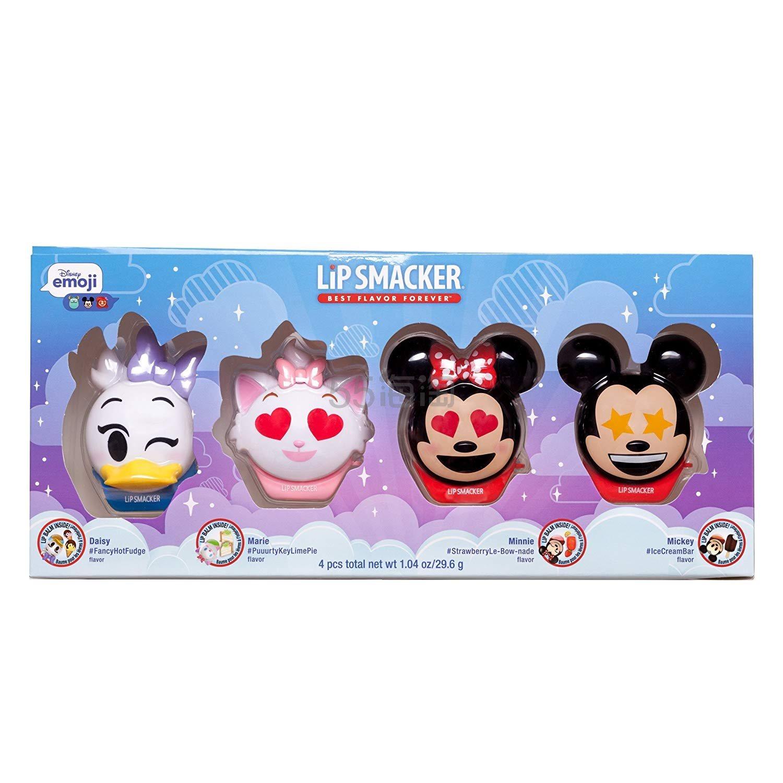 超可爱!【中亚Prime会员】Lip Smacker 迪士尼 Disney Emoji 儿童唇膏球 4只装 到手价109元 - 海淘优惠海淘折扣|55海淘网