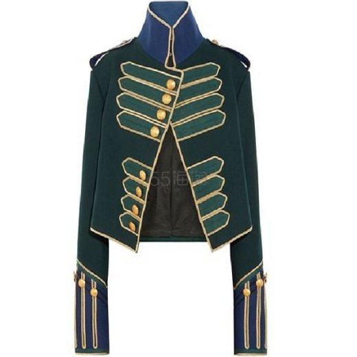 【双12】BURBERRY 博柏利 铜扣羊毛夹克 ,678(约11,543元) - 海淘优惠海淘折扣 55海淘网