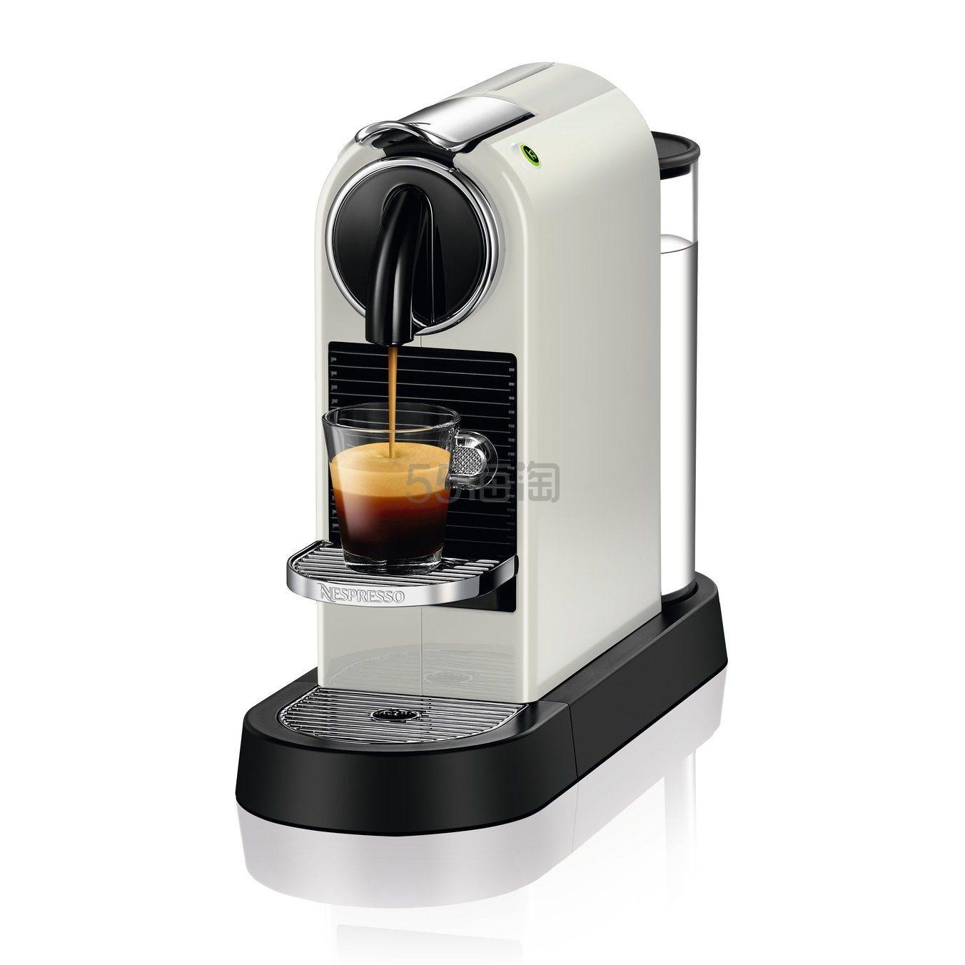 【中亚Prime会员】DeLonghi 德龙 Nespresso Citiz EN167.B 胶囊咖啡机 到手价956元 - 海淘优惠海淘折扣|55海淘网