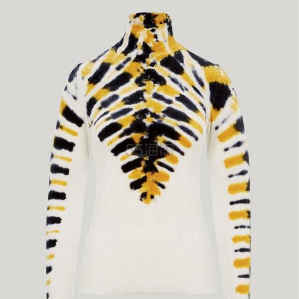 5折!Proenza Schouler 女士天鹅绒动物纹上衣 £235(约2,042元) - 海淘优惠海淘折扣|55海淘网