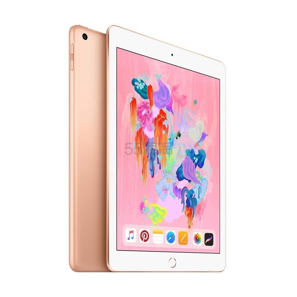 三色好价!Apple 苹果 9.7英寸2018年新款iPad 128GB WIFI版 128G/A10芯片/Retina显示屏 9(约2,215元) - 海淘优惠海淘折扣|55海淘网