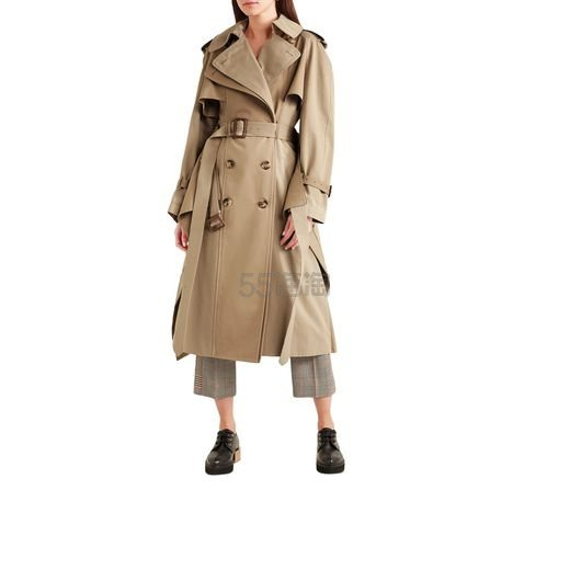 ALEXANDER MCQUEEN 斜纹防水棉风衣 ,438(约9,917元) - 海淘优惠海淘折扣|55海淘网