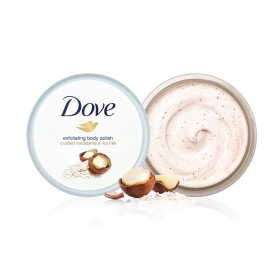 Dove 多芬 坚果米浆冰淇淋身体磨砂膏 225ml*4罐