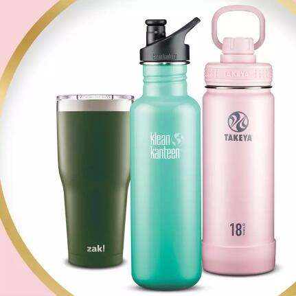 Target:精选多品牌功能性水杯 包括 Contigo、Blender Bottle 等