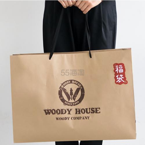 大感谢祭3重优惠!WOODY COMPANY 2019新春福袋女士8件套 19,600日元(约1,225元) - 海淘优惠海淘折扣|55海淘网