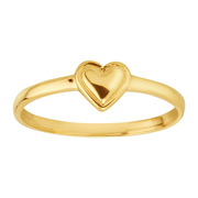 【年末清仓】ETERNITY GOLD TEENY TINY HEART RING 小爱心14k金戒指