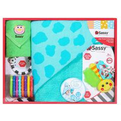 8.8折!【日本亚马逊】Sassy Sassy 新生儿礼盒 蓝色小狗款