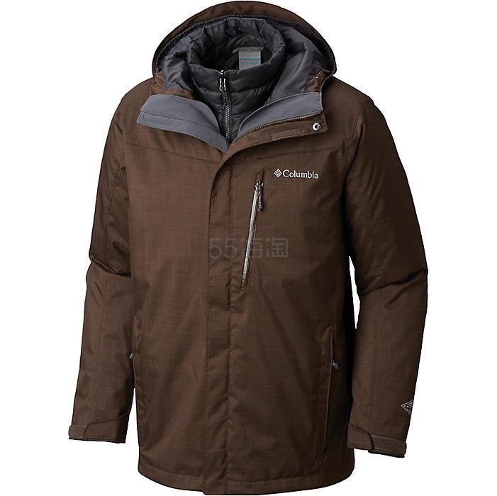 Columbia 哥伦比亚 Sportswear Whirlibird III 男士三合一冲锋衣 8.99(约887元) - 海淘优惠海淘折扣|55海淘网