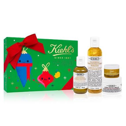 满额送好礼!Kiehls 科颜氏 圣诞限量金盏花护肤礼盒 (约269元) - 海淘优惠海淘折扣|55海淘网