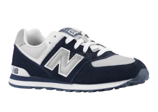 颜色好看+没有下线的低价!New Balance 574 大童款运动鞋