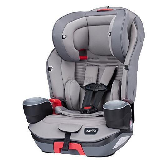 【中亚Prime会员】Evenflo Evolve 铂金3合1儿童汽车安全座椅