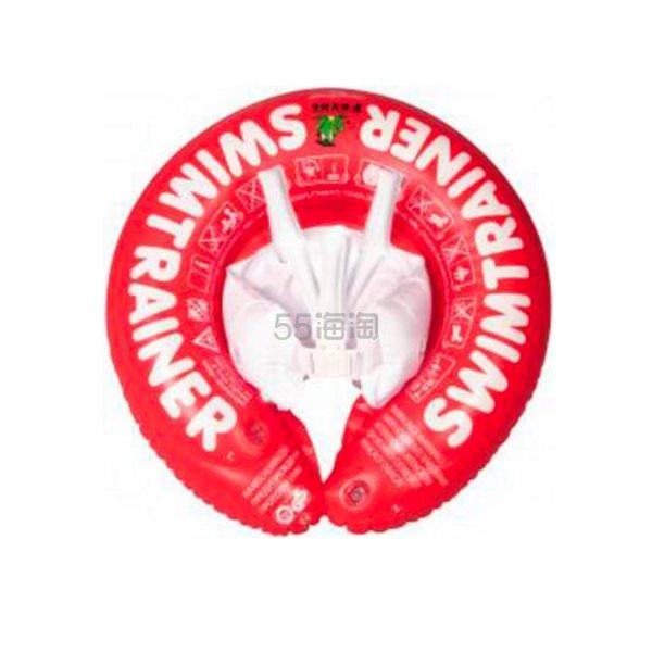【限时免邮】Freds 儿童游泳圈 适合3个月-4岁 6-18kg 红色