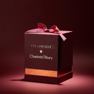 8折+立减£5!Feelunique×Charlotte Tilbury 红毯之星彩妆限量套装 含VV眼影盘