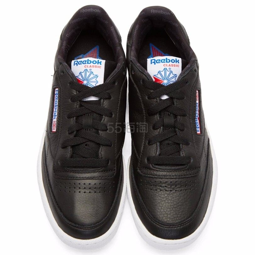 Reebok Classics Black Club C 85 SO Sneakers 男款黑色运动鞋