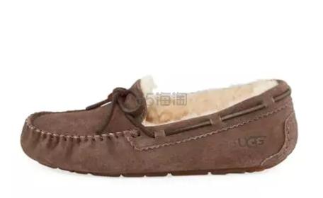 36码小码福利!UGG Dakota 女士羊毛豆豆鞋
