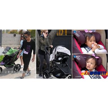 【包邮】Britax 宝得适汽车儿童安全座椅 Evolva1-2-3 plus 超级百变王 热情红