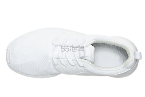 清仓5折最后一天 Nike 耐克 Roshe One 大童款休闲鞋 白色