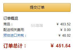 新低价!【中亚Prime会员】阿花花酱推荐~Waterpik 洁碧 WP-674EC 冲牙器水牙线 水瓶座设计师粉色限量版