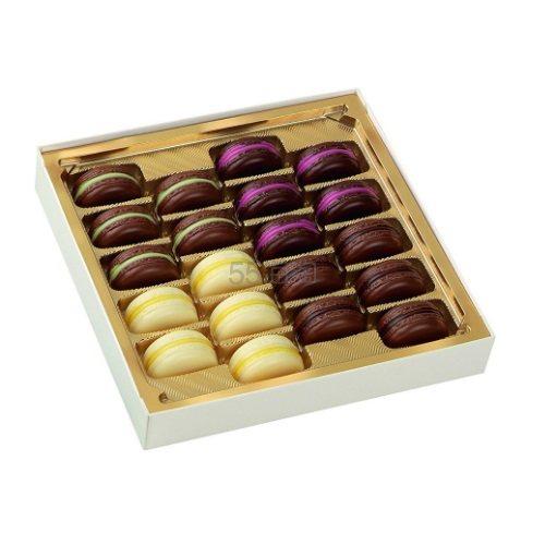 【7.4折+立减5欧】Lindt 瑞士莲 马卡龙造型巧克力礼盒 90g