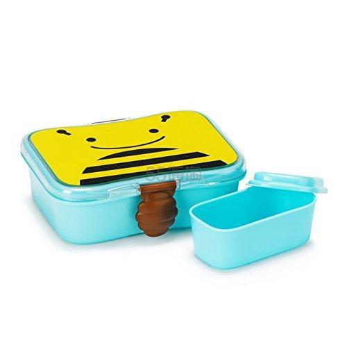 【中亚Prime会员】Skip Hop 动物园系列 儿童午餐盒零食盒 小蜜蜂