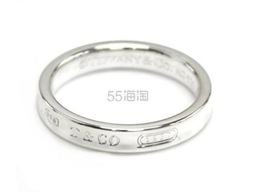 情人节首选!【中亚Prime会员】Tiffany&Co 蒂芙尼 1837系列 窄款银戒指