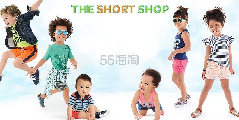 【Doorbusters】Carter's 卡特美国官网:精选儿童短裤