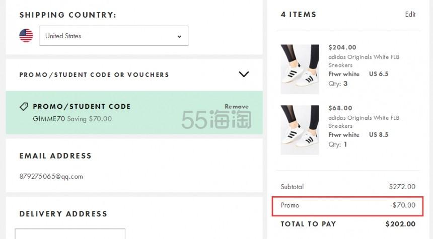 BUG价 要买赶紧!ASOS.com:全场服饰鞋包、美妆个护