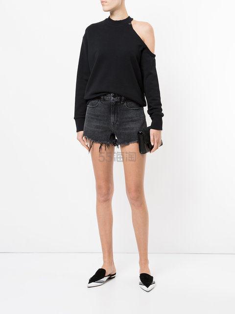 宋茜同款!Alexander Wang 牛仔短裤