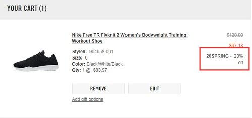 Nike 美国官网:精选耐克男女鞋履服饰等促销