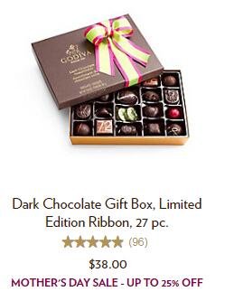 Godiva 歌帝梵:精选母亲节巧克力礼盒