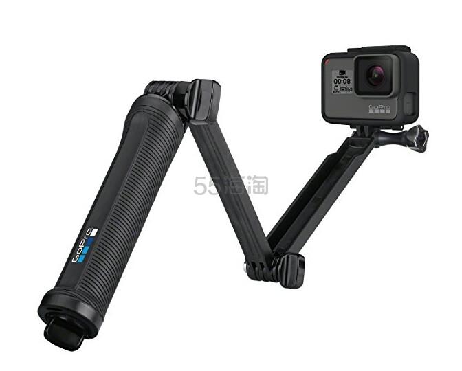 【中亚Prime会员】GoPro 三向支架 自拍杆、手柄、旋转臂或三脚架