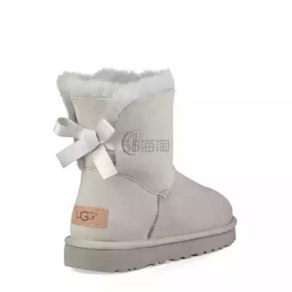 反季囤!UGG Mini Bailey Bow II 蝴蝶结雪地靴 .99(约575元) - 海淘优惠海淘折扣|55海淘网