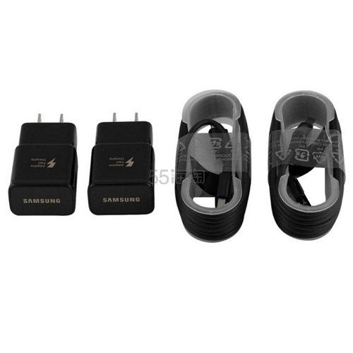 Samsung 三星 原装快充套装 2件套*2套(充电头+充电线)Micro2.0 或 Type-C 接口可选 .99(约96元) - 海淘优惠海淘折扣|55海淘网