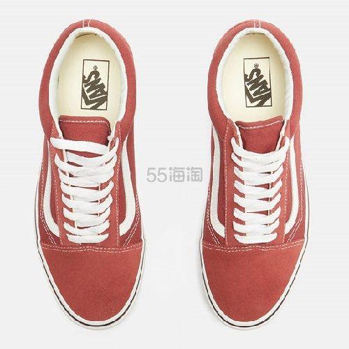 码全!VANS 范斯 Classic Old Skool 系列 运动鞋 砖红色 (约478元) - 海淘优惠海淘折扣|55海淘网