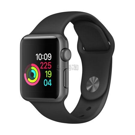 Apple Watch Series 1 苹果手表 铝合金运动款 42mm 黑/白 两色可选 9(约1,198元) - 海淘优惠海淘折扣|55海淘网