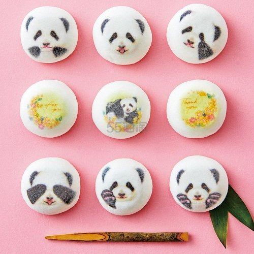 YOU+MORE!日本风熊猫棉花糖 9个 1,296日元(约79元) - 海淘优惠海淘折扣|55海淘网