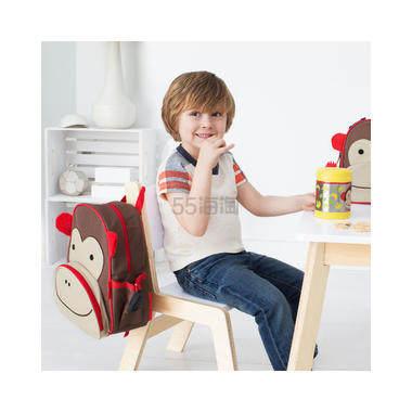 【下单享9折+再减+免邮中国】Skip Hop Zoo 动物园系列 儿童双肩背包 猴子 .74(约156元) - 海淘优惠海淘折扣|55海淘网