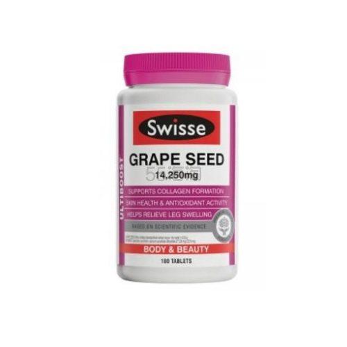 【满减12澳】Swisse 澳洲葡萄籽精华 180粒