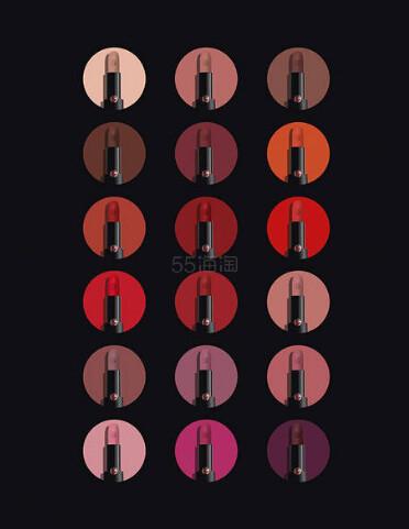Giorgio Armani 2018秋季新品哑光唇膏 (约260元) - 海淘优惠海淘折扣|55海淘网