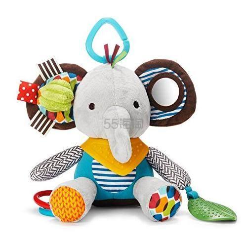 多款可选~【中亚Prime会员】Skip Hop 动物园系列 玩偶围巾小伙伴 磨牙牙胶玩具 大象款 到手价114元 - 海淘优惠海淘折扣|55海淘网