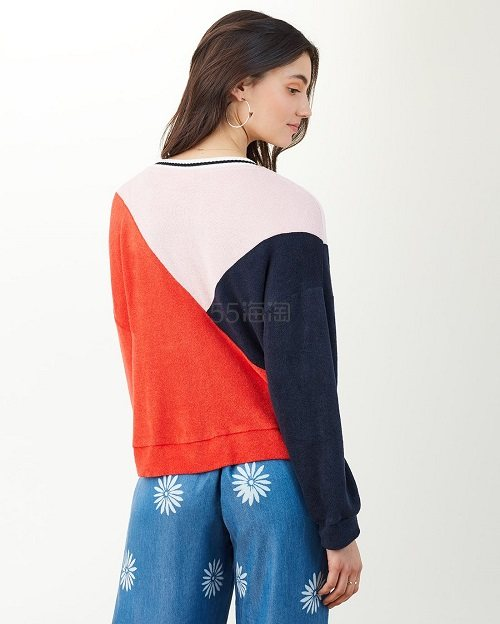 Splendid X Margherita 拼色针织衫 (约613元) - 海淘优惠海淘折扣|55海淘网