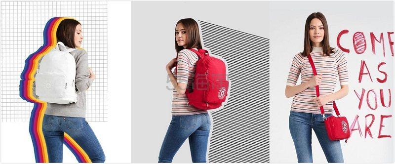 【经典耐背】Kipling:精选 新款时尚包袋 额外7.5折 - 海淘优惠海淘折扣|55海淘网