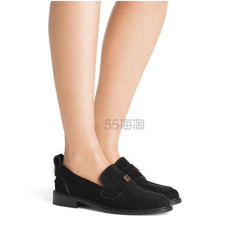 Stuart Weitzman 黑色乐福鞋 3.75(约2,307元) - 海淘优惠海淘折扣 55海淘网