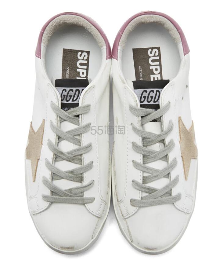 Ssense 独家款 Golden Goose SSENSE superstar 香芋粉尾小脏鞋 9(约2,418元) - 海淘优惠海淘折扣|55海淘网