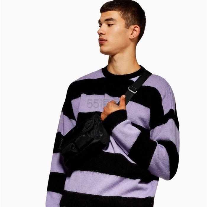 Topman 男士条纹休闲毛衫 £22(约198元) - 海淘优惠海淘折扣|55海淘网