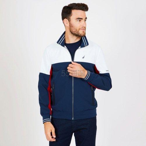 Nautica 男士 立领拼色夹克外套 1(约765元) - 海淘优惠海淘折扣|55海淘网
