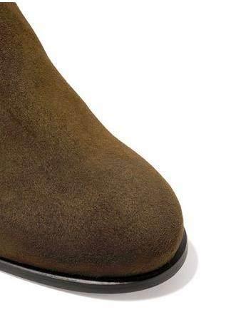 Stuart Weitzman 粗跟麂皮过膝靴 8(约3,045元) - 海淘优惠海淘折扣 55海淘网