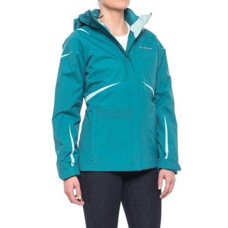 Columbia 哥伦比亚 Blazing Star Interchange 女士三合一冲锋衣夹克 .99(约484元) - 海淘优惠海淘折扣|55海淘网